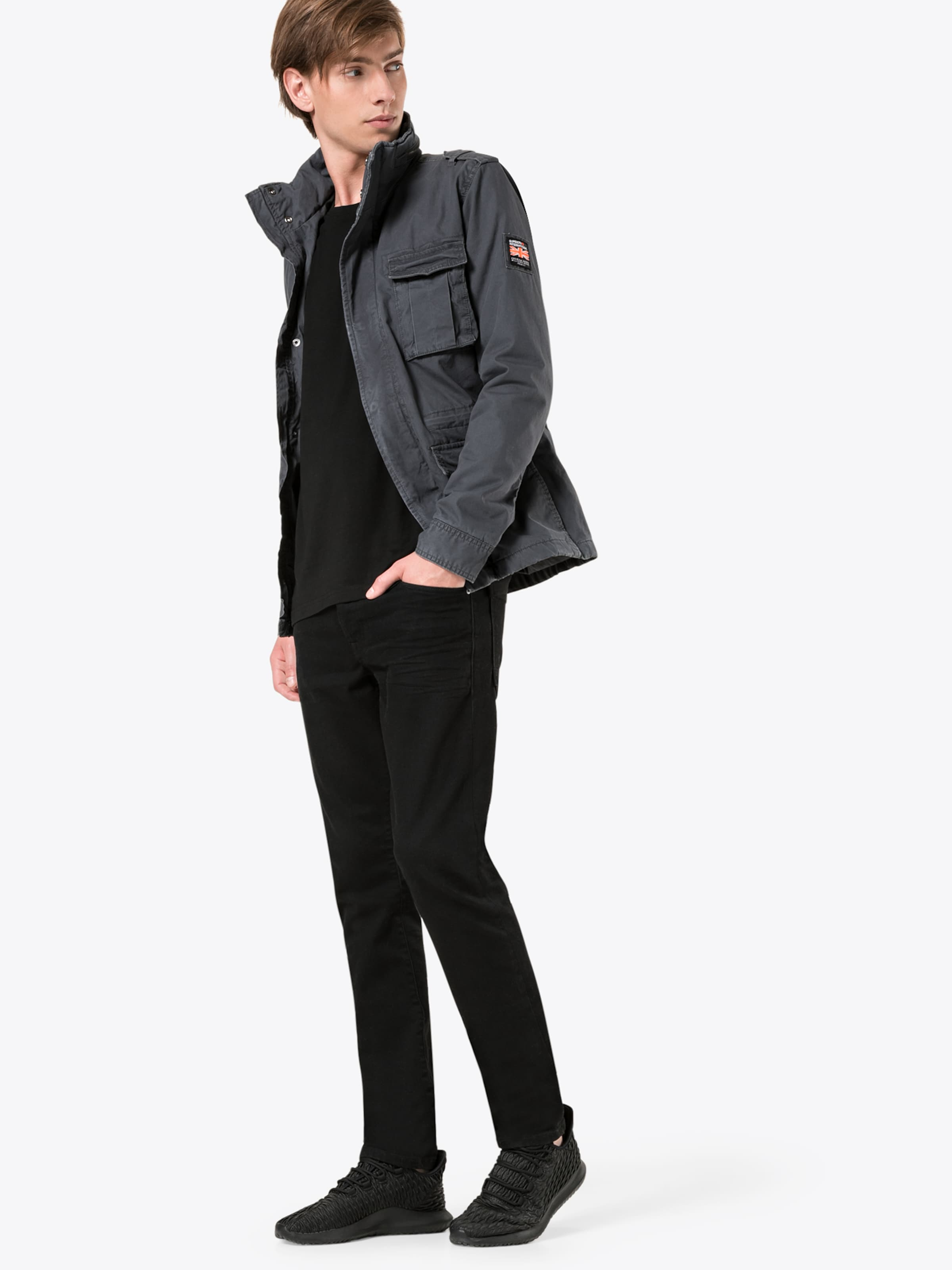 Jacket' Military In Jacke Superdry Rookie Dunkelgrau 'classic vyw8mnON0