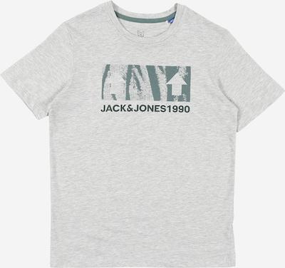 Jack & Jones Junior Koszulka w kolorze nakrapiany szary / zielonym, Podgląd produktu