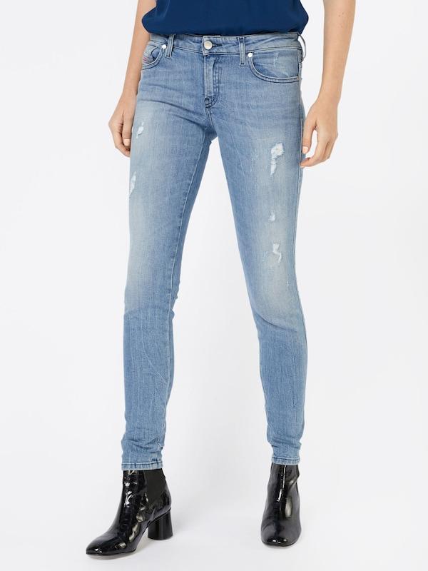 DIESEL 'Gracey' Skinny Jeans 0688E