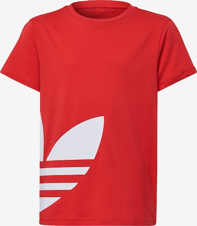 ADIDAS ORIGINALS Shirt in rot / weiß, Produktansicht