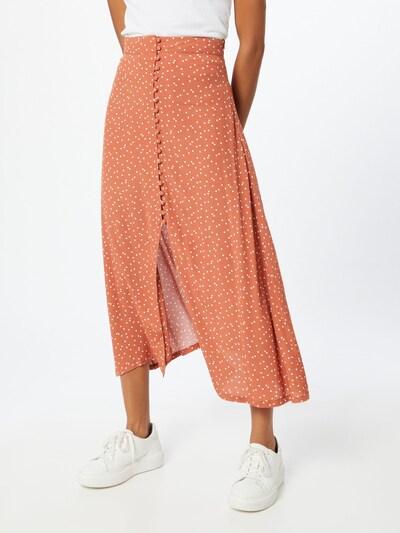 Cotton On Rock 'Summer Button' in orange / weiß: Frontalansicht