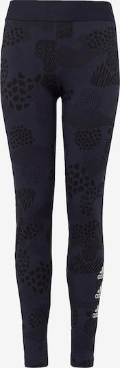 ADIDAS PERFORMANCE Sporthose in navy / schwarz / weiß, Produktansicht