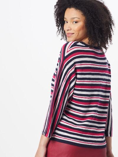 Megztinis iš s.Oliver , spalva - tamsiai mėlyna / rožinė: Vaizdas iš galinės pusės
