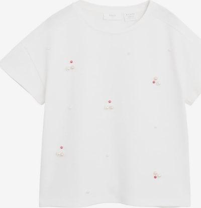MANGO KIDS T-Shirt 'PERLITA' in rosa / grenadine / weiß, Produktansicht