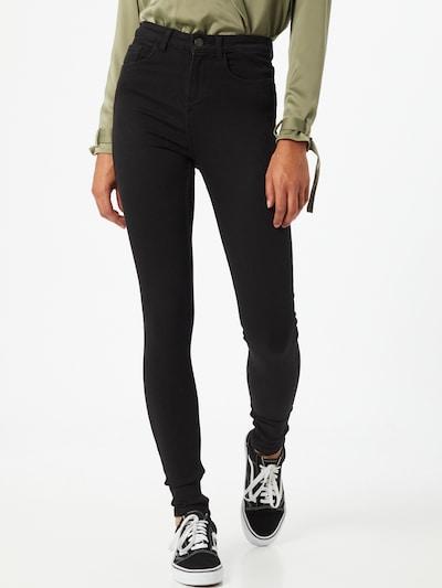PIECES Džíny 'PCHIGHFIVE' - černá, Model/ka