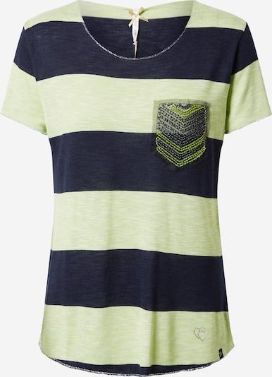 Key Largo T-Shirt 'Jana' in kiwi / schwarz, Produktansicht