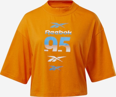 REEBOK Shirt in orange, Produktansicht