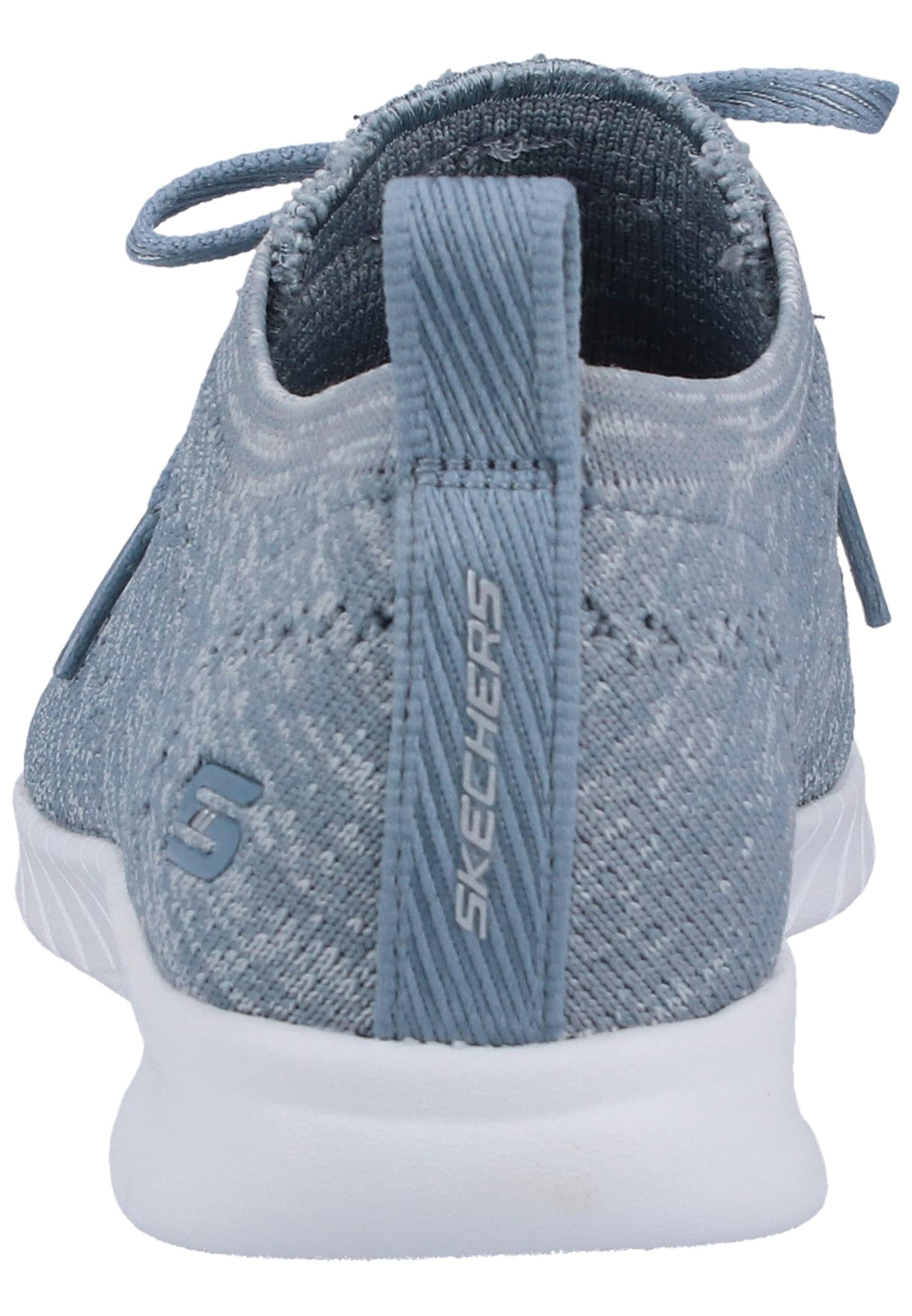 Chaussure Lacets Bleu Skechers De ClairGris À En Sport 4AL35qRj