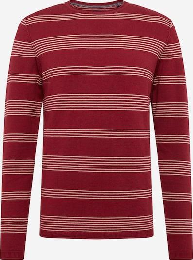 JACK & JONES Trui 'RBLUJUSTIN' in de kleur Rood, Productweergave