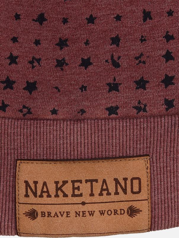 Sweat-shirt Naketano encre Aufm Filler