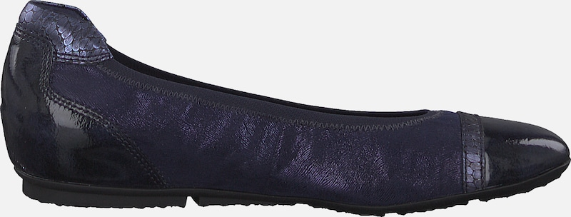 TAMARIS Slipper in navy: Seitenansicht