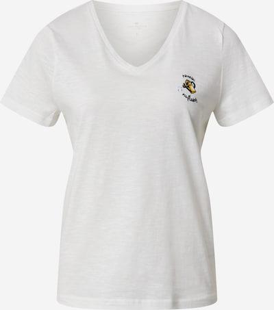 TOM TAILOR Shirt in wollweiß, Produktansicht