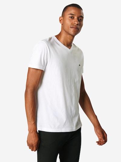 LACOSTE T-Krekls balts: Priekšējais skats
