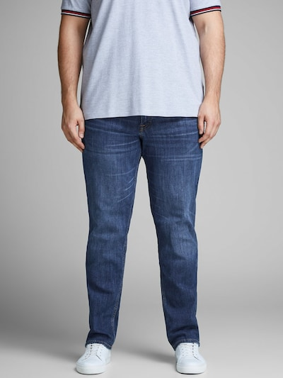 JACK & JONES Jeans 'Tim Original AM 814' in blue denim, Modelansicht