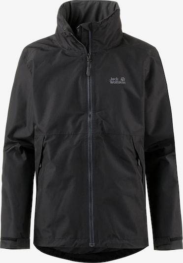 JACK WOLFSKIN Outdoorjas 'Evandale' in de kleur Zwart, Productweergave
