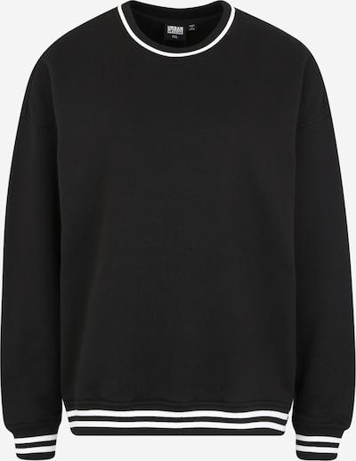 Urban Classics Curvy Majica | črna / bela barva, Prikaz izdelka