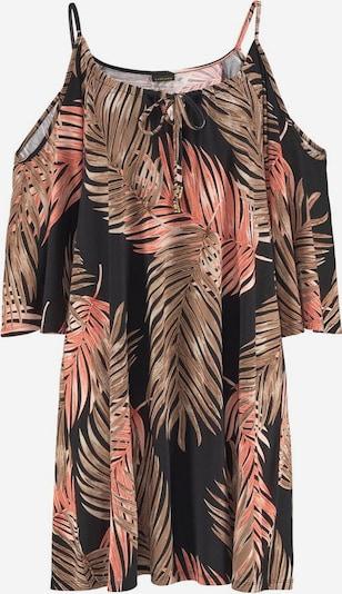 LASCANA Longshirt in braun / schwarz, Produktansicht