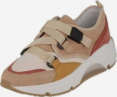 Alpe Sneaker in beige / hellorange / weiß, Produktansicht
