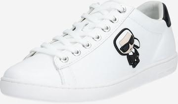 Karl Lagerfeld Sneakers 'KUPSOLE II Karl Ikonic' in White