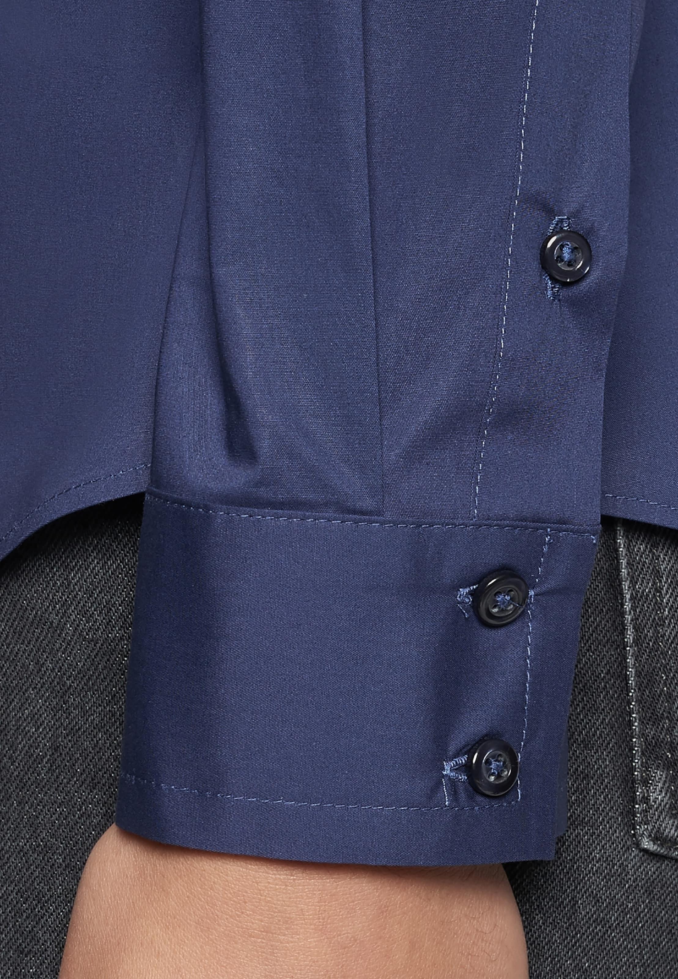 Seidensticker Chemisier Bleu 'schwarze Rose' En 0PkXnw8O