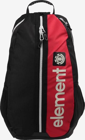 ELEMENT Rucksack 'Primo Bustle' in rot / schwarz / weiß, Produktansicht