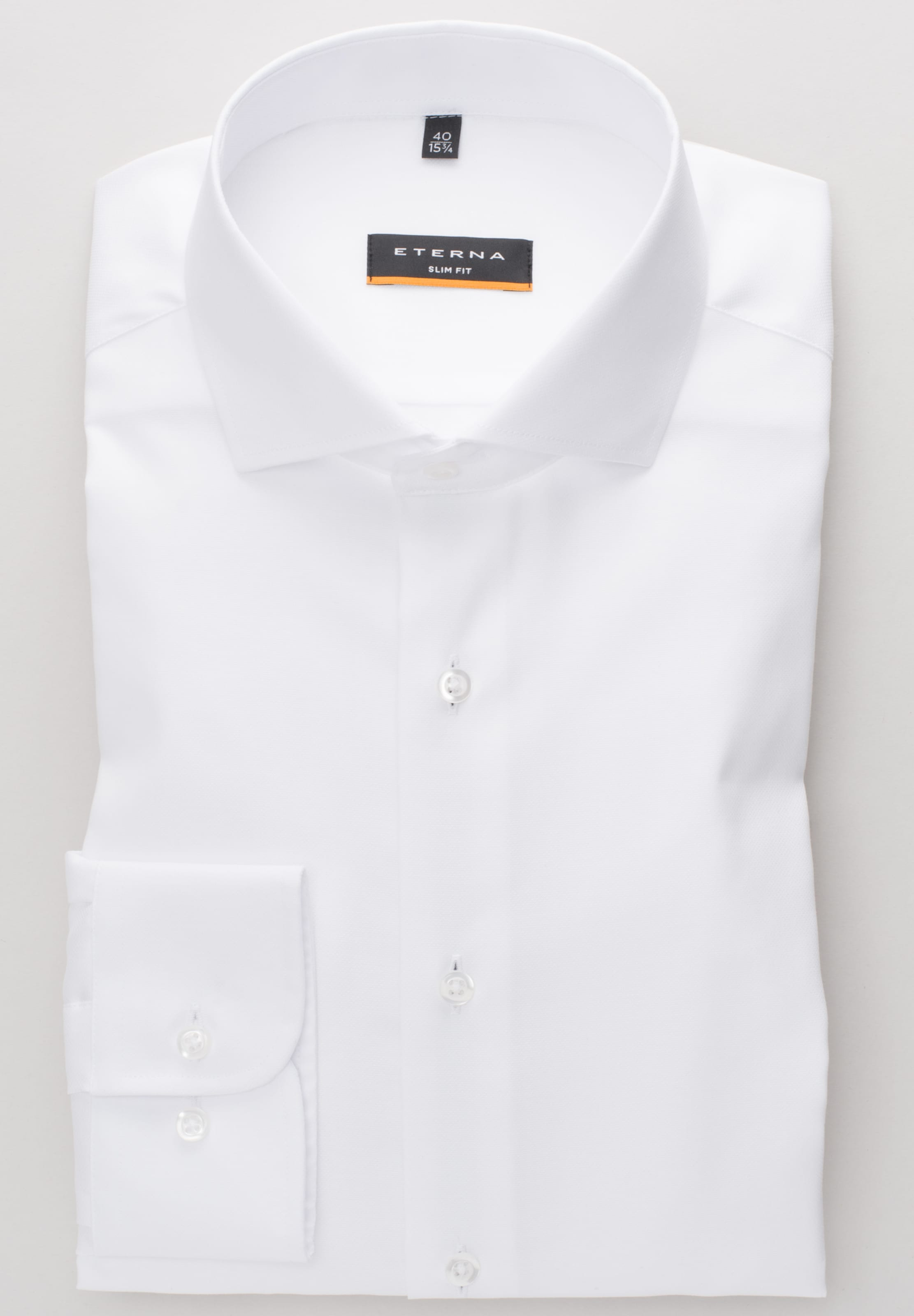low priced 9d5fc 2116d In Weiß Eterna Eterna Hemd In Hemd CxBreWdo