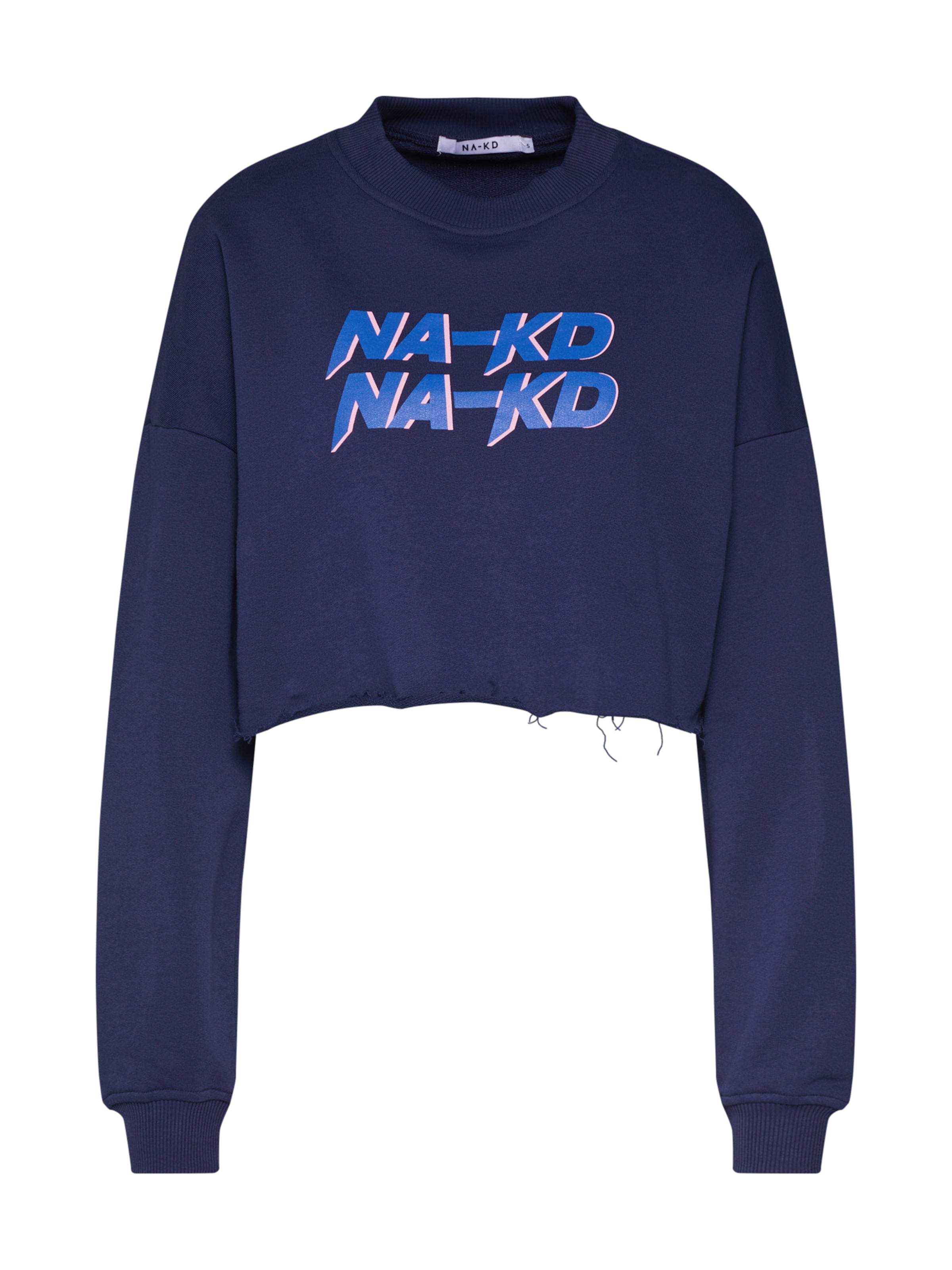 Sweat' Sweatshirt Blau In kd 'short Na Ivf6gmbY7y