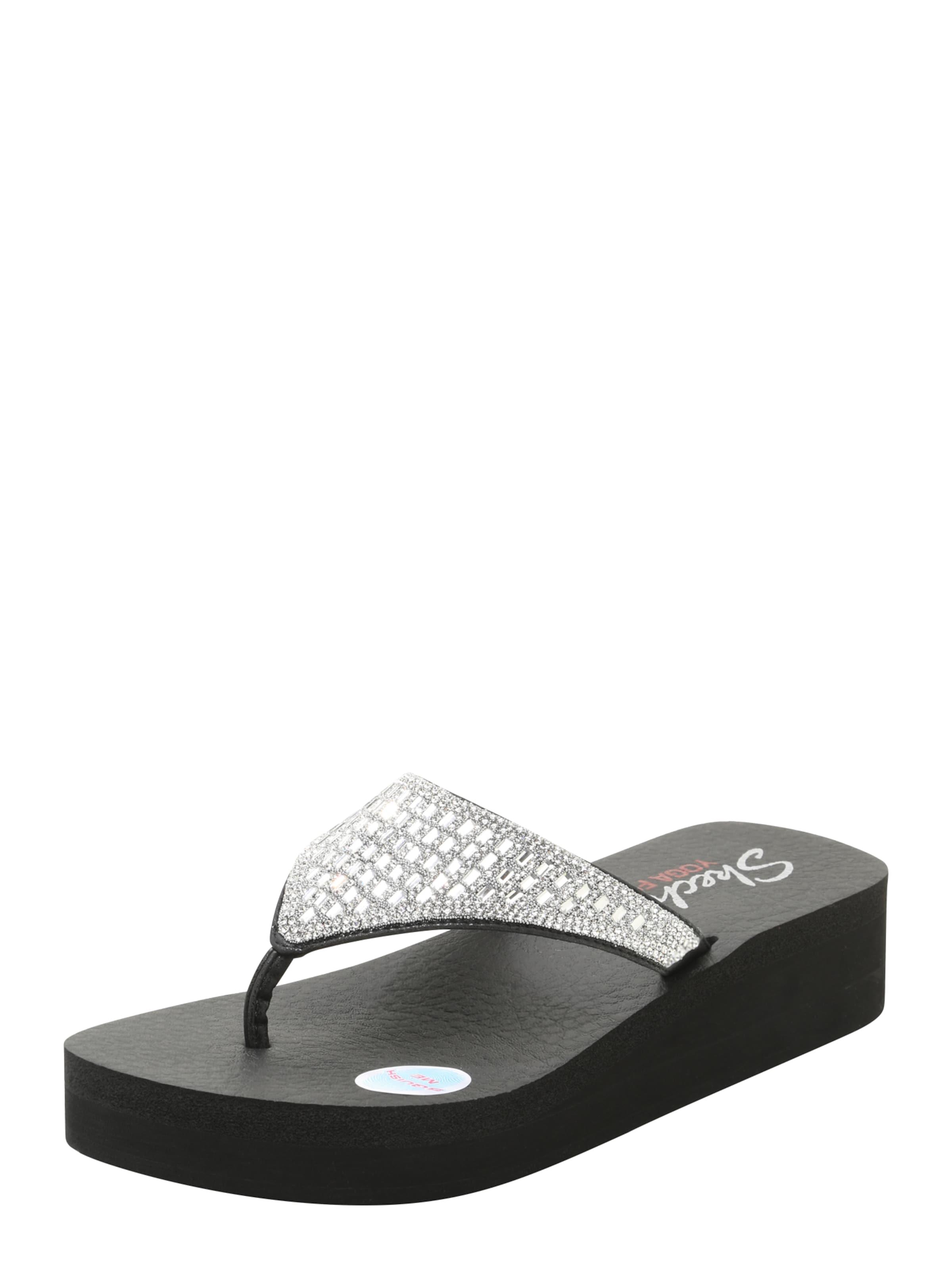 Skechers Flip Flop 'strass Caviar À Capuchon' Noir AYHylDFCn