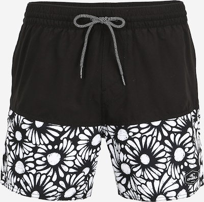 O'NEILL Sportzwembroek 'PM SPLICED' in de kleur Zwart / Wit, Productweergave