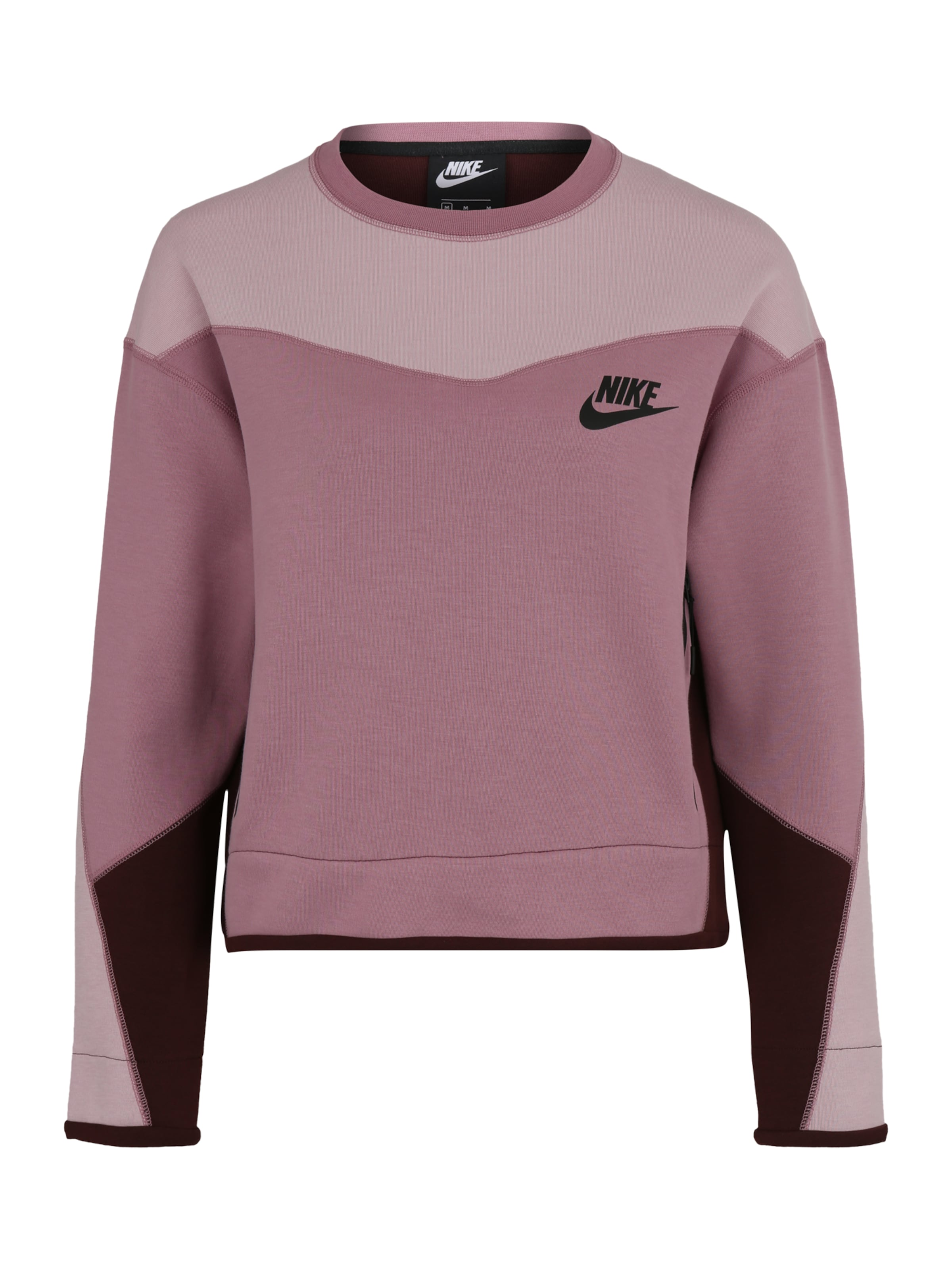 LilaFlieder In Sportswear Fleece' 'nsw Nike Beere Tech Sweatshirt dWrxeQCBo