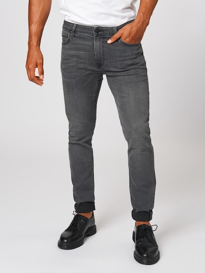 Lee Jean 'Malone' en gris denim: Vue de face