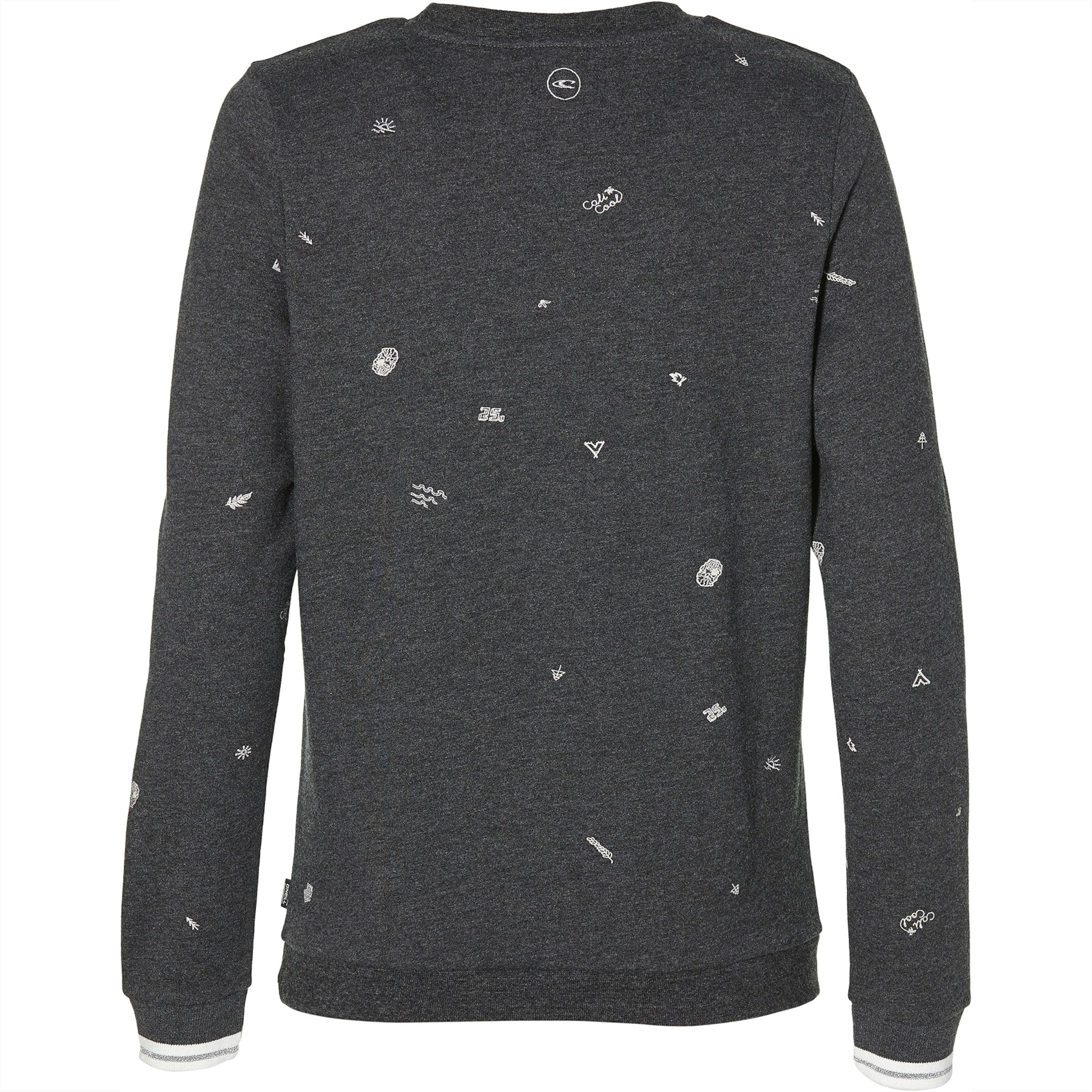 Dunkelgrau Print 'lw Sweatshirt Sweatshirt' Mini O'neill In WDEIH92Y