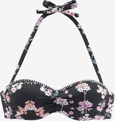 SUNSEEKER Bikinitop 'Ditsy' in de kleur Gemengde kleuren / Zwart, Productweergave
