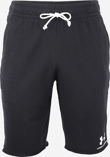 UNDER ARMOUR Sport-Shorts in schwarz / weiß, Produktansicht