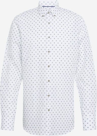 bugatti Hemd in navy / weiß, Produktansicht