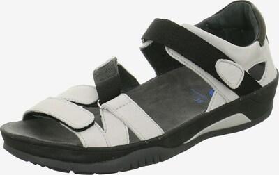 Wolky Sandale in schwarz / weiß, Produktansicht