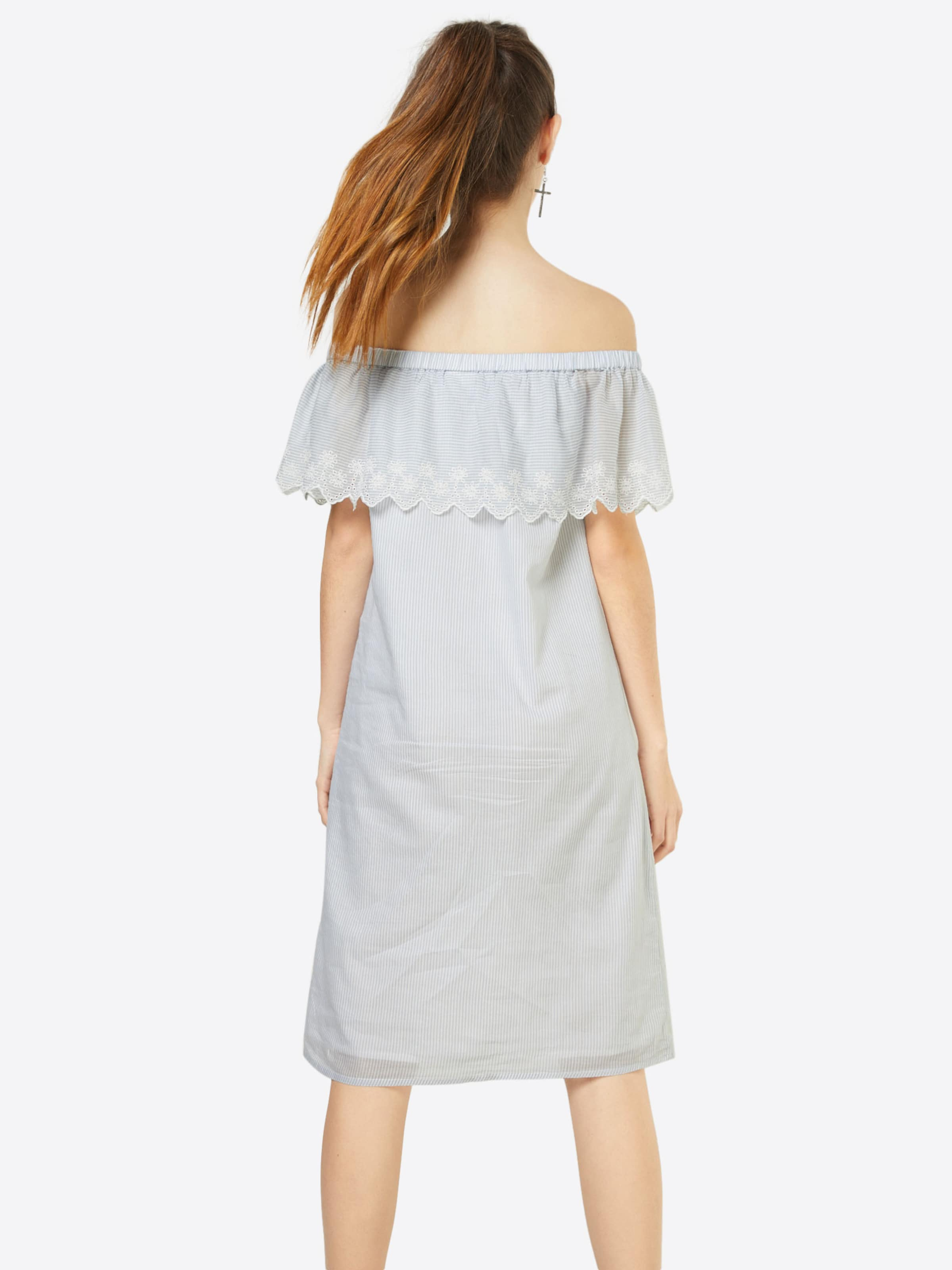 Vila D'été Clair 'vitipo Bleu Offshoulder Short Dress' En Robe 8wNOynPvm0