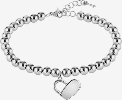 BOSS Armband 'Herz, Beads Collection, 1580075' in silber, Produktansicht