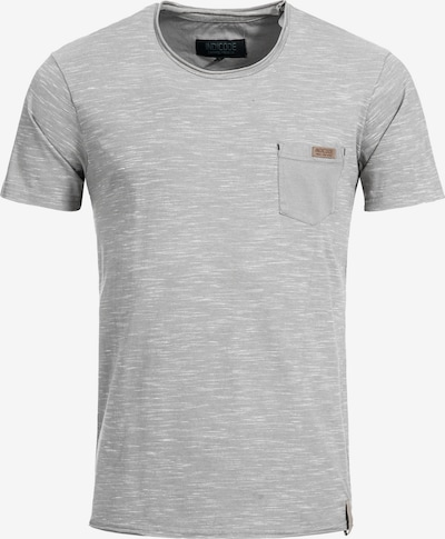 INDICODE JEANS T-Shirt ' Tulsa ' in grau, Produktansicht