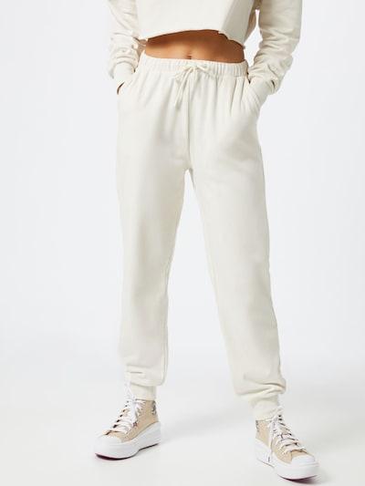 NU-IN Spodnie w kolorze jasny beżm, Podgląd na modelu(-ce)