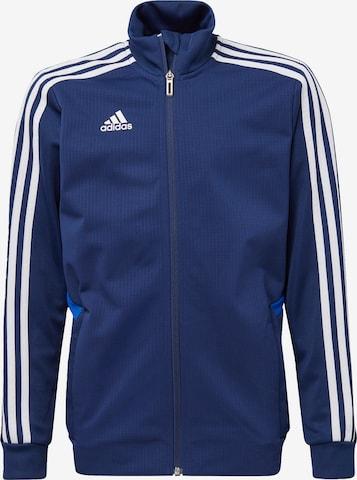 ADIDAS PERFORMANCE Athletic Jacket 'Tiro 19' in Blue