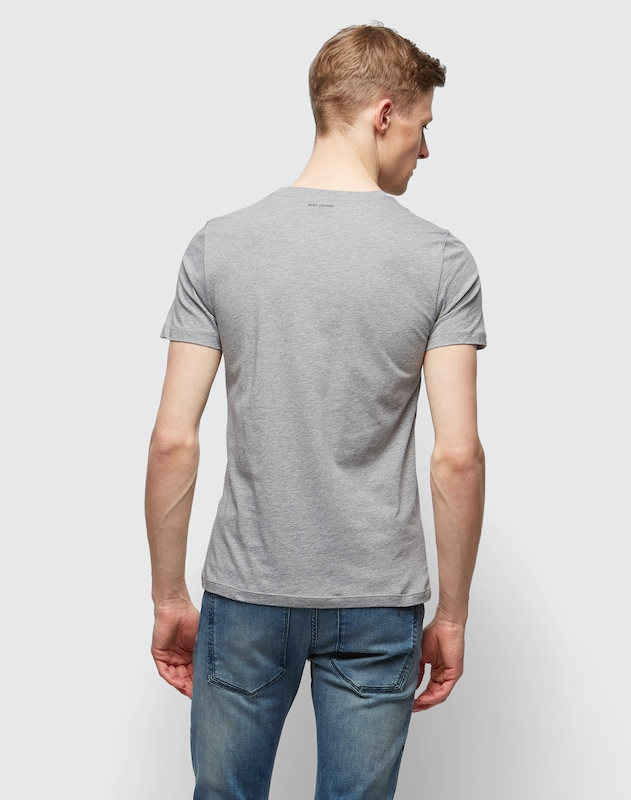 BOSS T-Shirt mit Front-Print 'Turbulence 1'