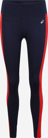 ASICS Sportleggings 'W TOKYO TRAIN TIGHT' in dunkelblau / rot / weiß, Produktansicht