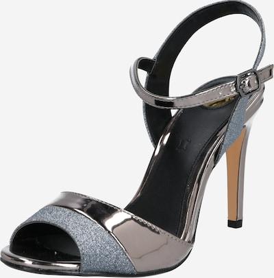 BUFFALO Sandale 'AIDA' in grau / silber, Produktansicht