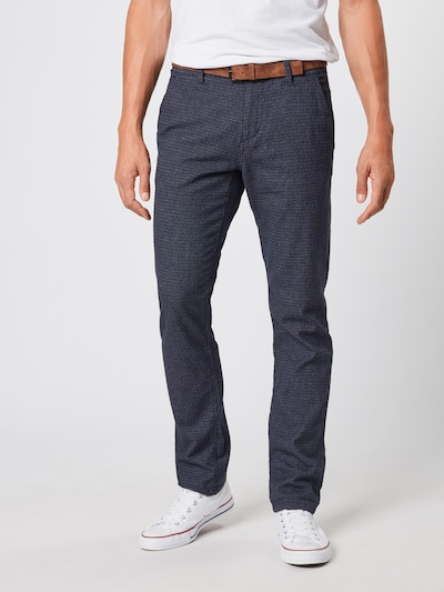 TOM TAILOR DENIM Chinohose in navy, Modelansicht