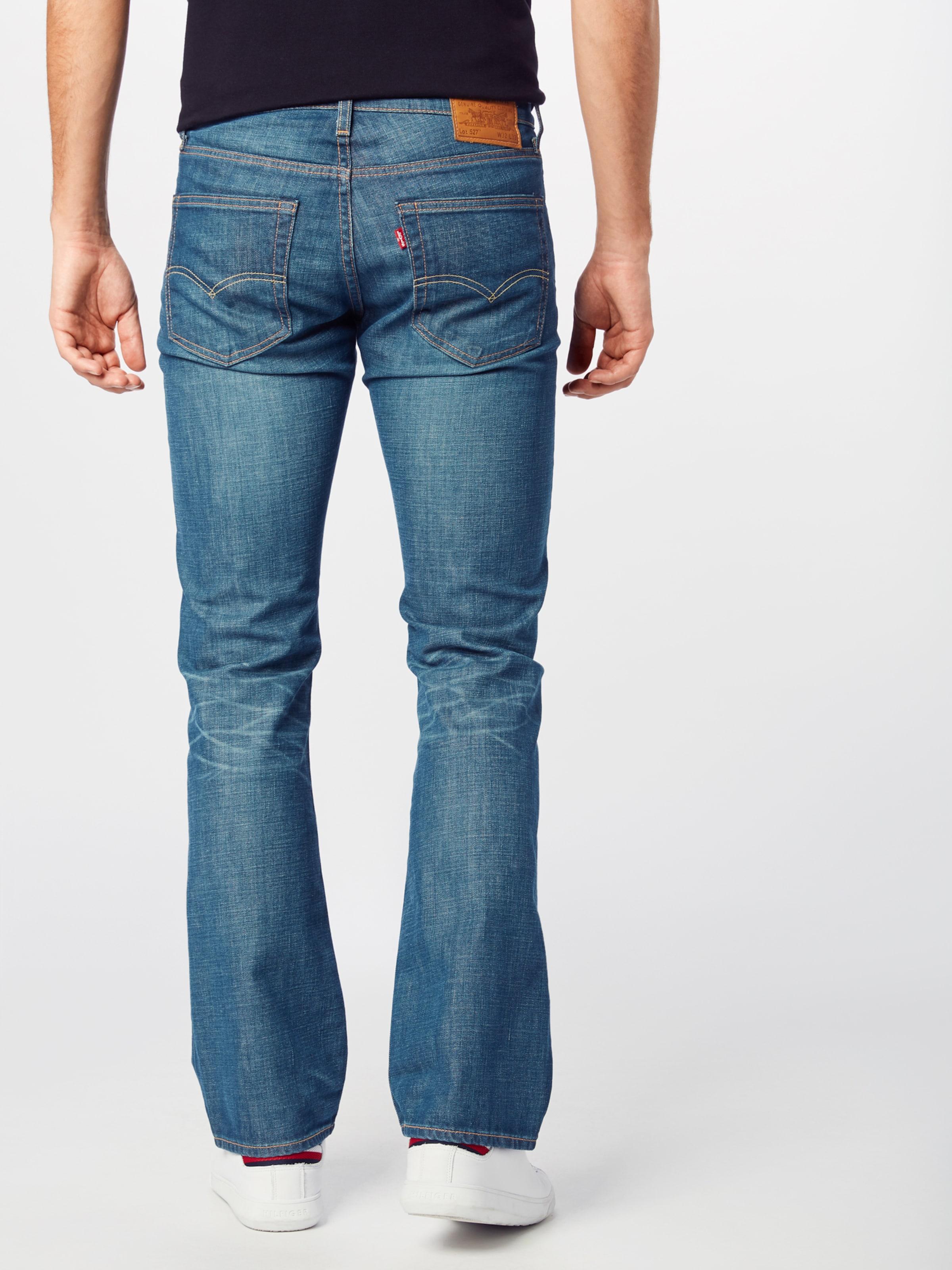 LEVI'S Jeans '527�?#x27; i blå denim