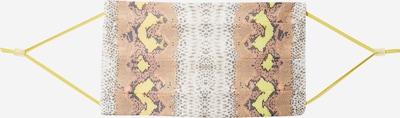 CODELLO Masque en tissu 'Cover Up' en beige / mélange de couleurs, Vue avec produit