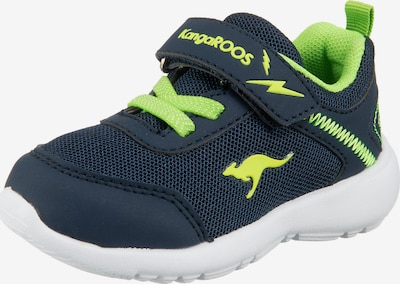 KangaROOS Sneaker in blau / hellgrün, Produktansicht