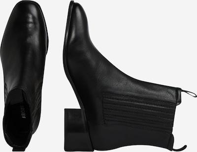ABOUT YOU Chelsea Boots 'Laila' en noir: Vue de profil