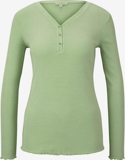 TOM TAILOR Shirt in hellgrün, Produktansicht